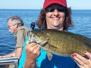 Smallmouth Bass Guided Fishing Charter
