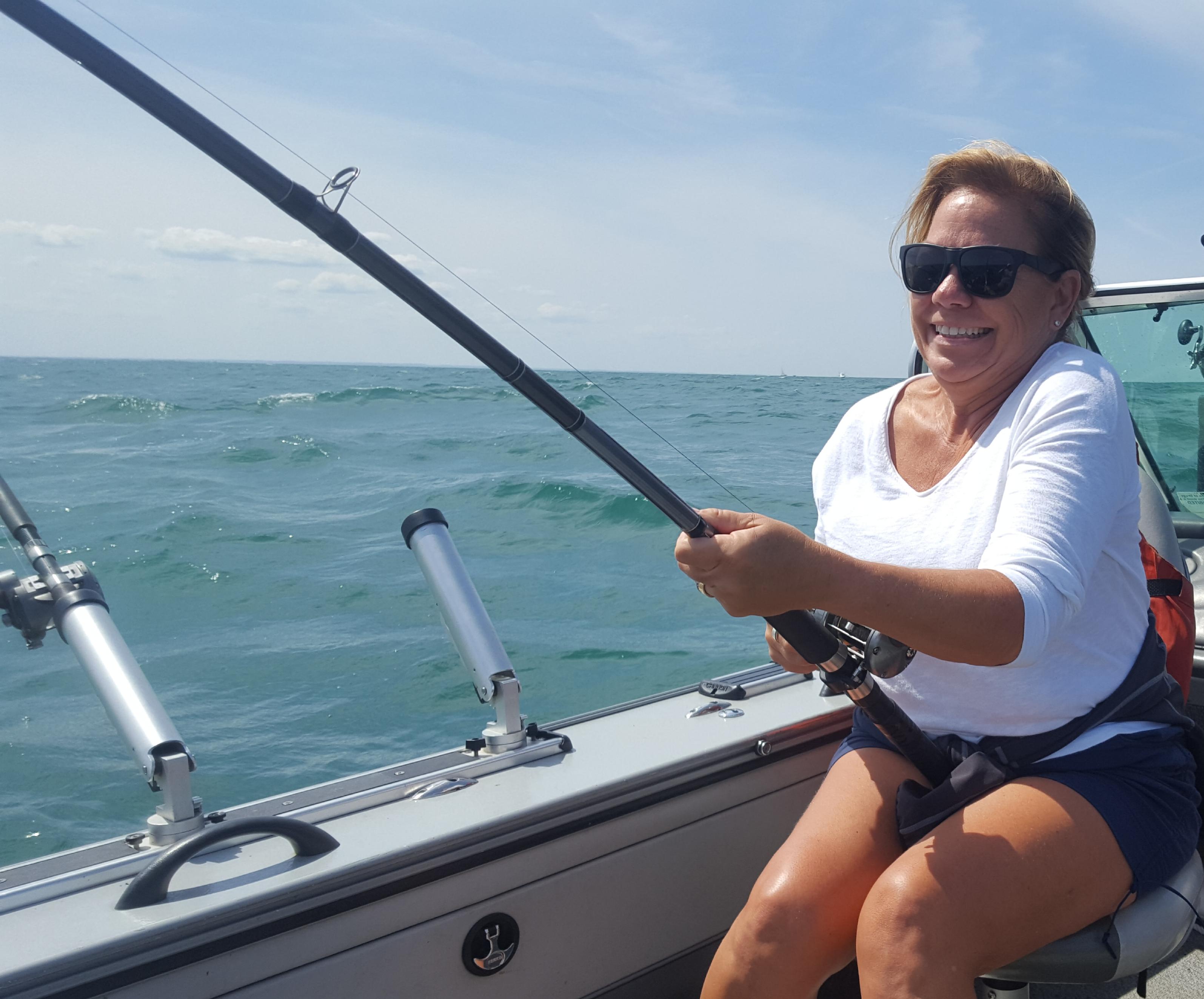 Lake ontario lake erie guided fishing charters 1st for Fishing charters buffalo ny