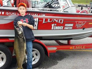 Guided Steelhead Fishing Charters on Lake Erie