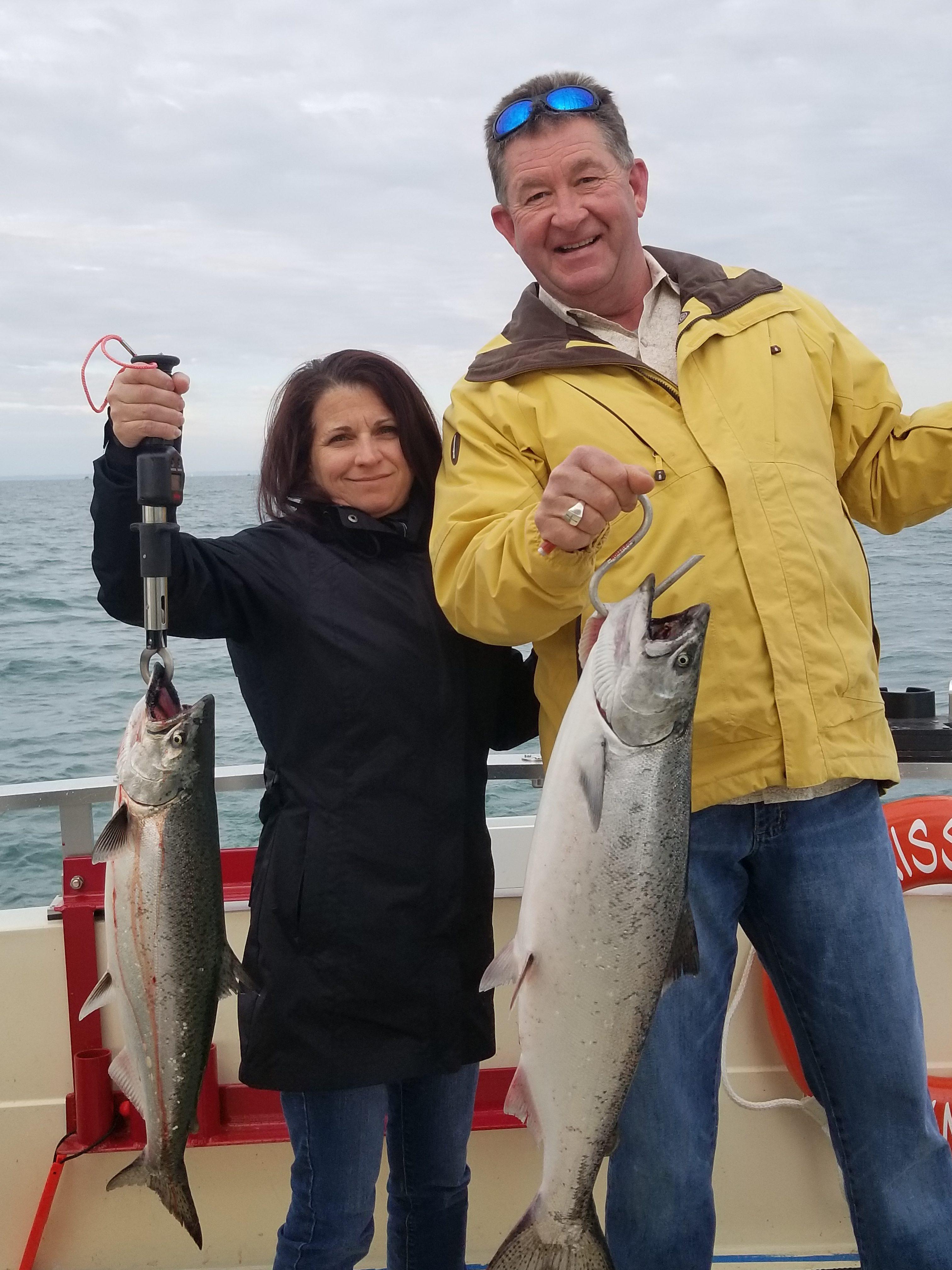 Lake Ontario Salmon