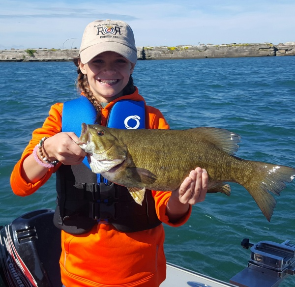 Lake ontario lake erie guided fishing charters 1st for Ruby river fishing report